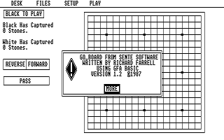 Go Board atari screenshot
